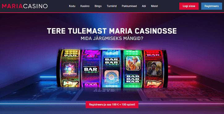 maria kasiino veebileht
