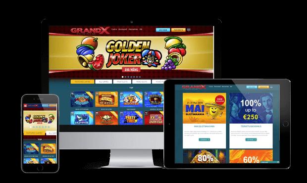 grandx online kasiino ülevaade