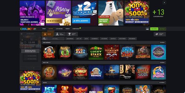 coolbet kasiino veebileht
