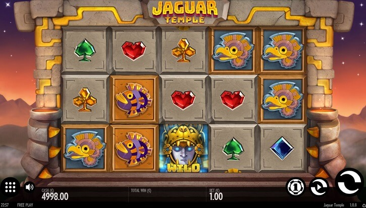 jaguar temple slot screen