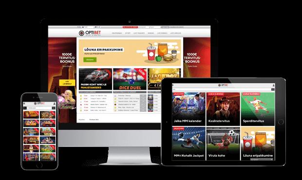 optibet online kasiino ülevaade