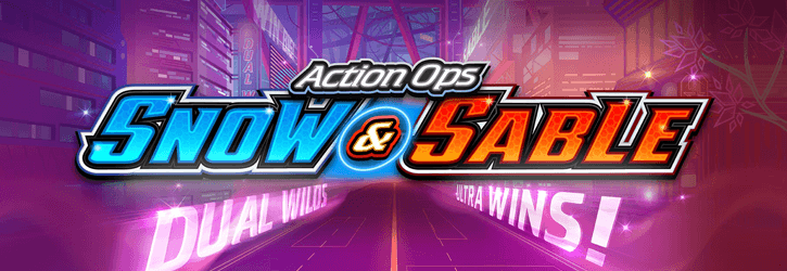 action ops snow and sable slot microgaming
