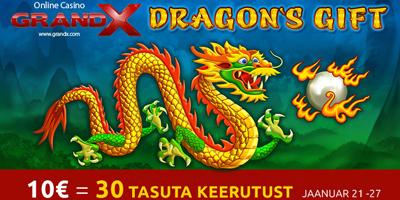 grandx kasiino dragons gift
