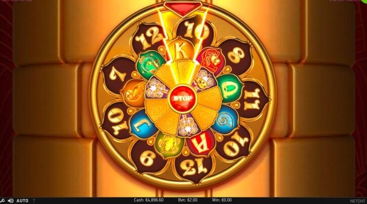 turn your fortune slot bonus wheel