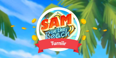 paf kasiino sam on the beach