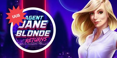 paf kasiino agent jane blonde returns tasuta spinnid