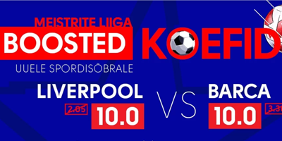 olybet boosted koefid liverpool barcelona