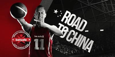 betsafe road to china kampaania