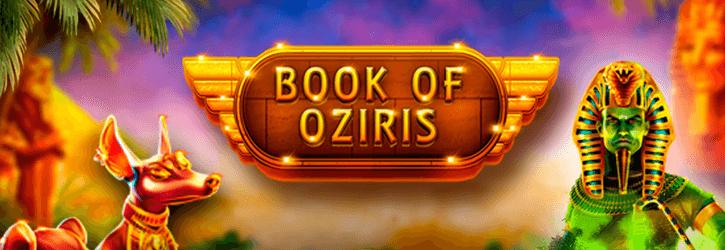 book of oziris slot gameart