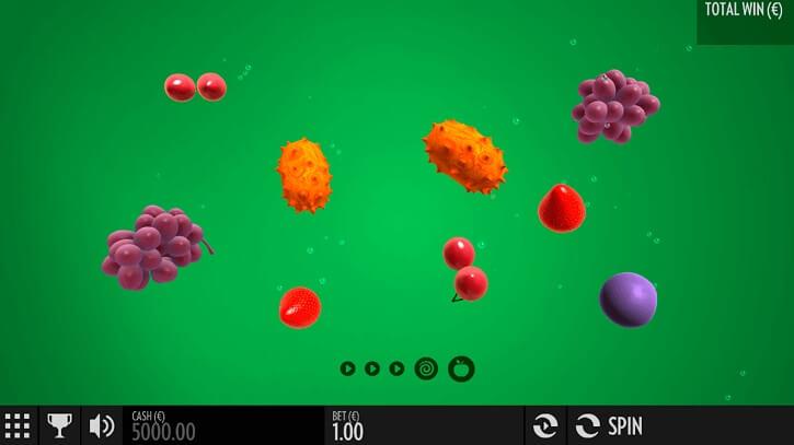fruit warp slot screen