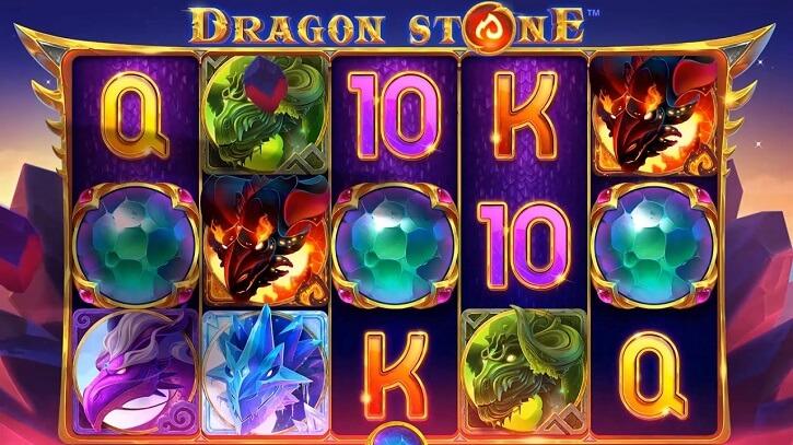 dragon stone slot screen