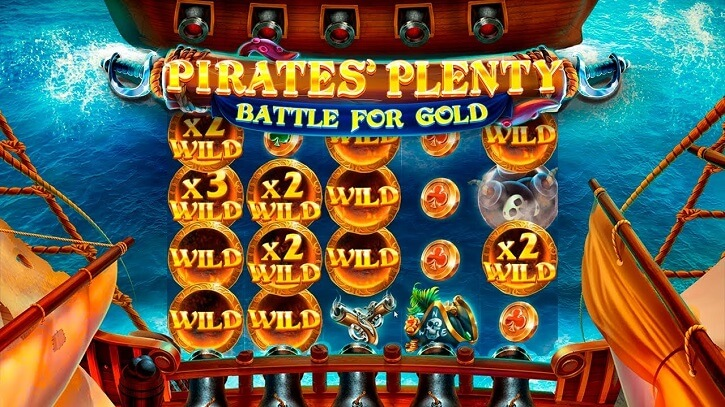 pirates plenty battle for gold slot review