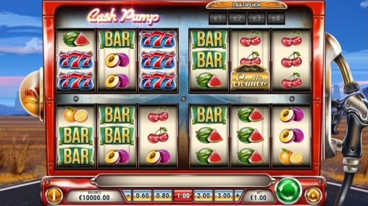 cash pump slot screen