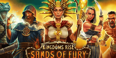 kingdoms rise sands of fury slot