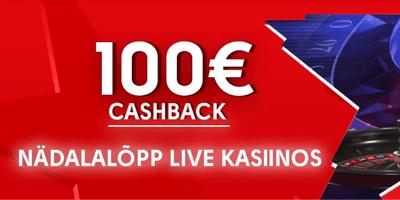 olybet kasiino live cashback