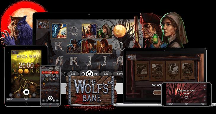 the wolfs bane slot netent