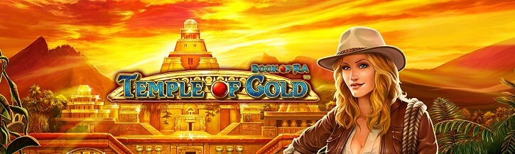 book of ra temple of gold slot novomatic
