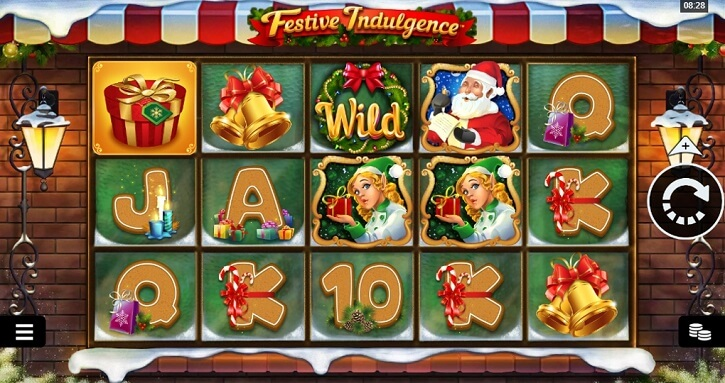 festive indulgence slot screen