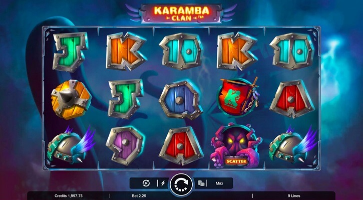 karamba clan slot screen