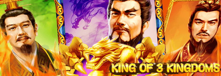 king of 3 kingdoms slot netent