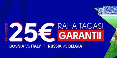 olybet euro qualifiers 25 eur tagasi