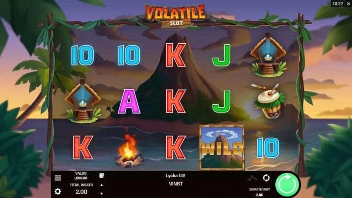 volatile slot screen