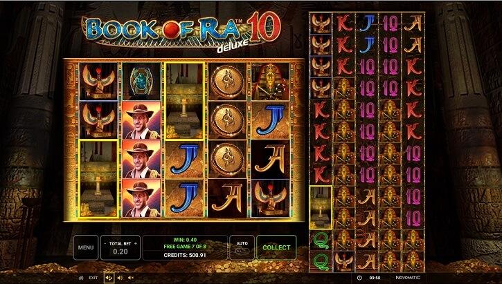 book of ra deluxe 10 slot bonus