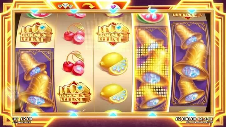 deco diamonds deluxe slot bonus