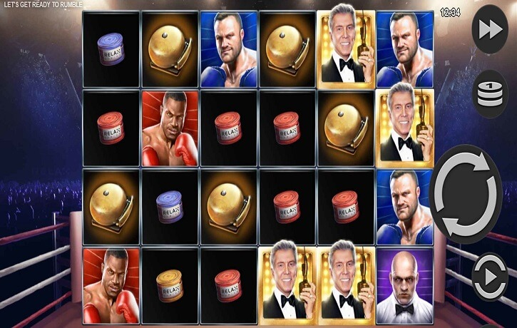 lets get ready to rumble slot screen