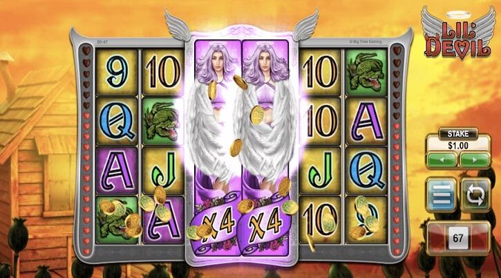 lil devil slot screen