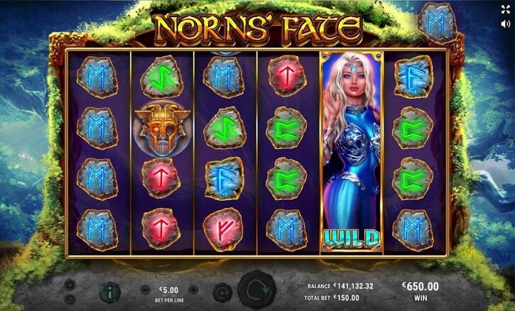 norns fate slot screen