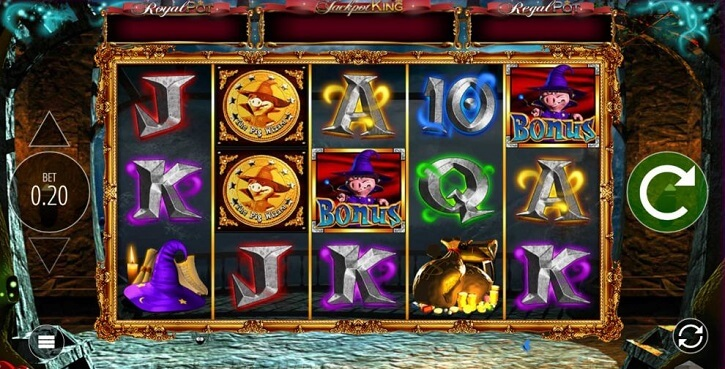 the pig wizard slot screen