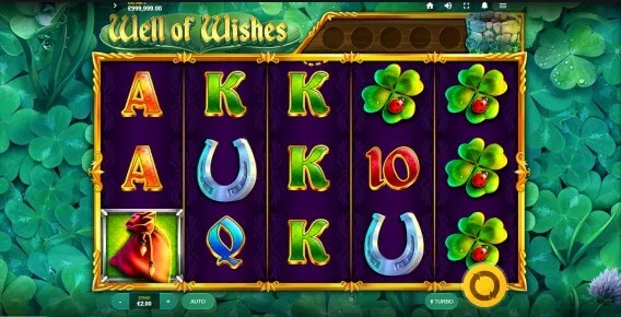 well of wishes slot screen