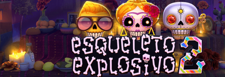 esqueleto explosivo 2 slot thunderkick