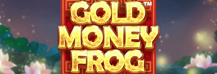 gold money frog slot netent