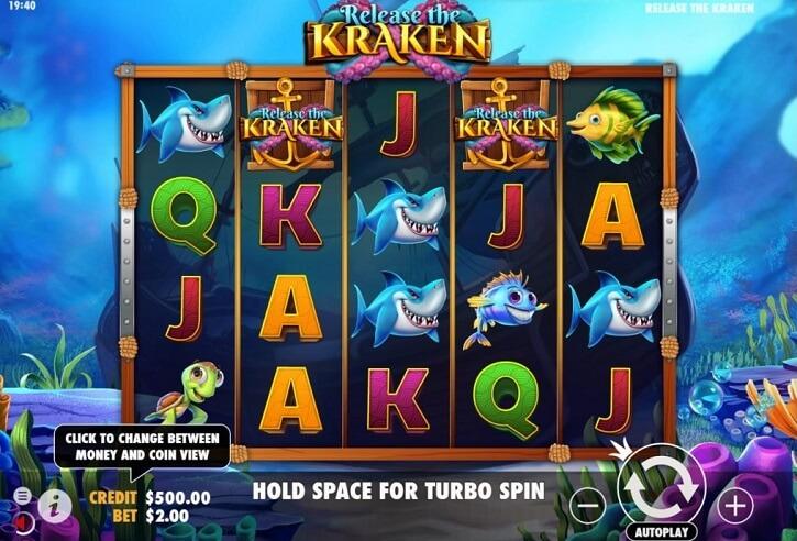 release the kraken slot screen