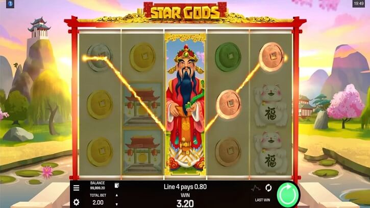 star gods slot review