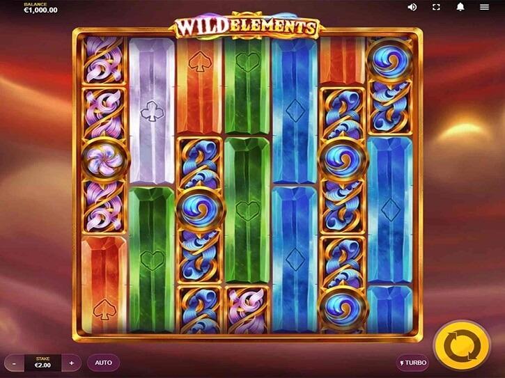 wild elements slot screen