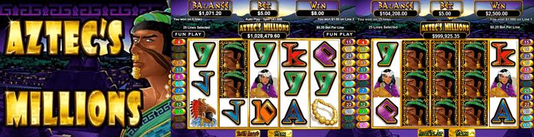 aztecs millions jackpot slot