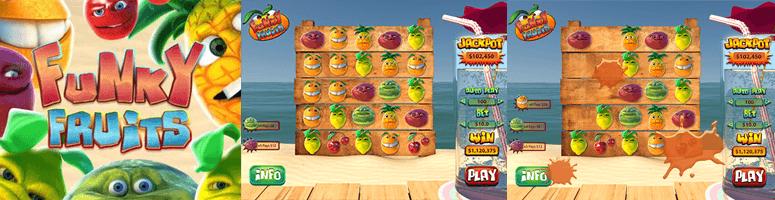 funky fruits jackpot slot