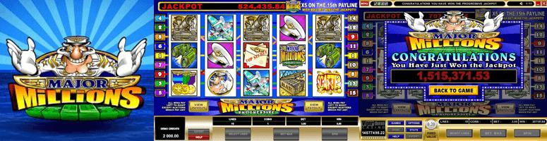 major millions jackpot slot