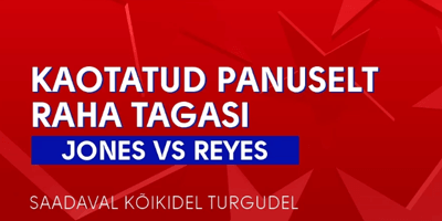 olybet spordiennustus ufc jones vs reyes