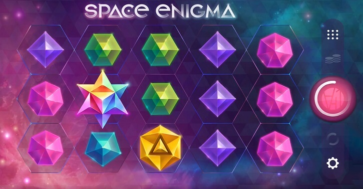 space enigma slot screen