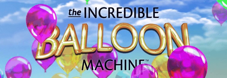 the incredible balloon machine slot microgaming