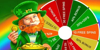grandx kasiino st patrick wheel