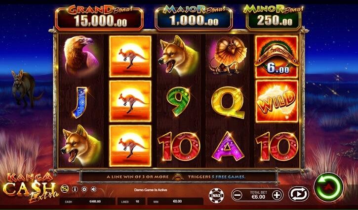 kanga cash extra slot screen