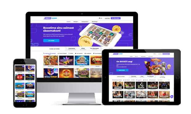 boost casino website review