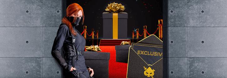 ninja kasiino exclusive boonused kampaania