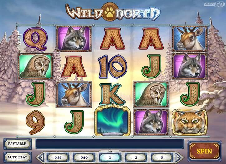 wild north slot screen