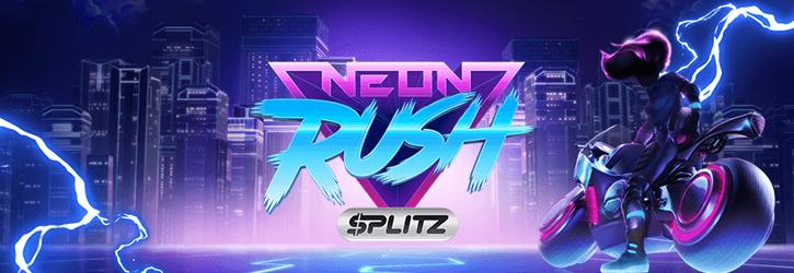 neon rush splitz slot yggdrasil